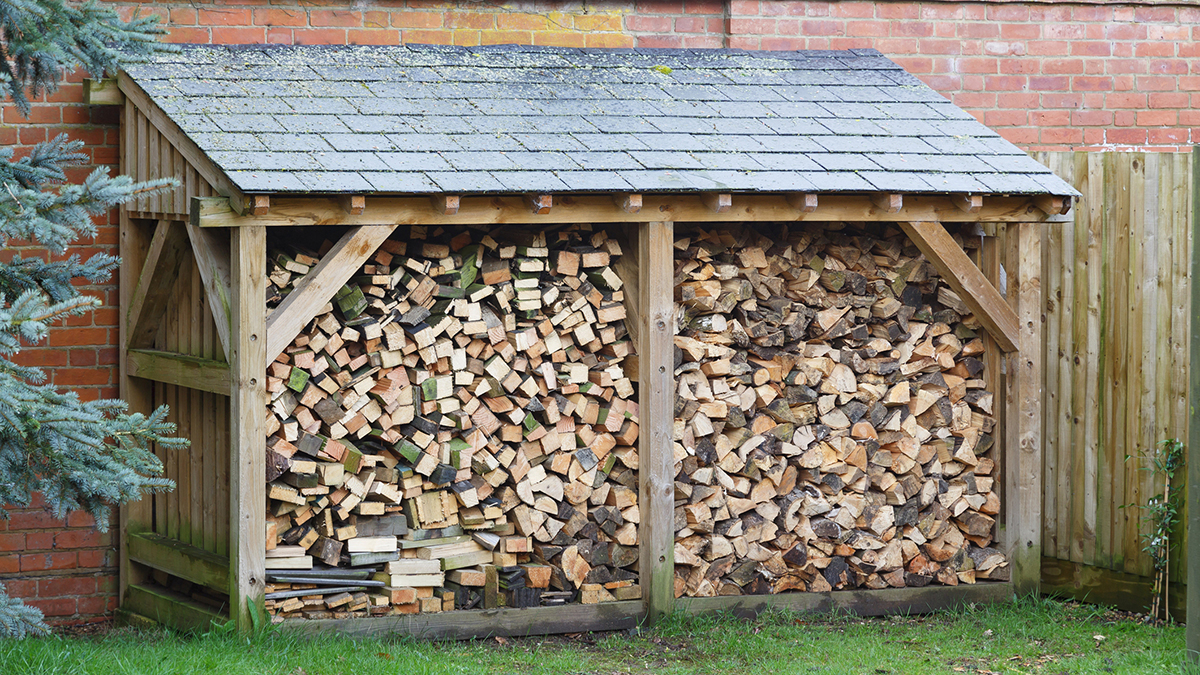 20 Easy To Build Firewood Shed Plans and Designs