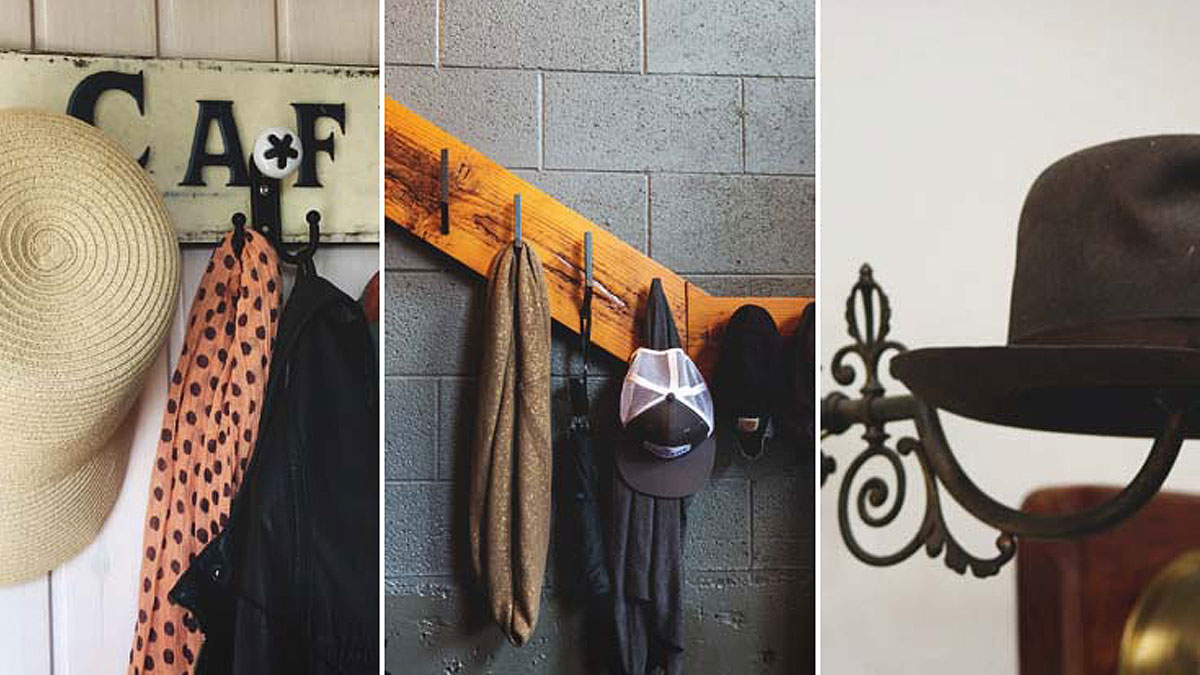 27 Simple Tutorials to Build a DIY Hat Rack